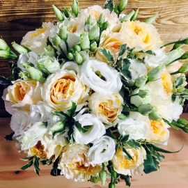 Букет невесты «Персиковый рассвет»