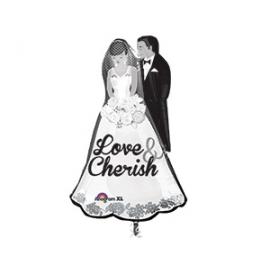 Шар с гелием Жених и невеста